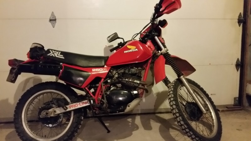 1982 Honda XL250R MD03